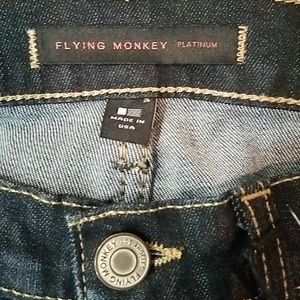 Flying Monkey Jeans - NWT Flying Monkey Denim Jeans.  Size 24
